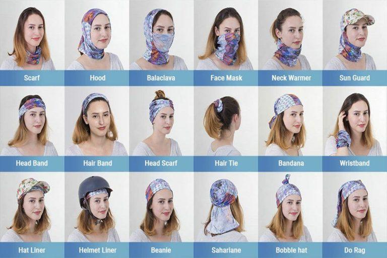 دستمال سر تکلا (باندانا، اسکارف)